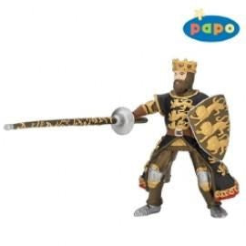 King Richard with spears black and gold (7036858373)
