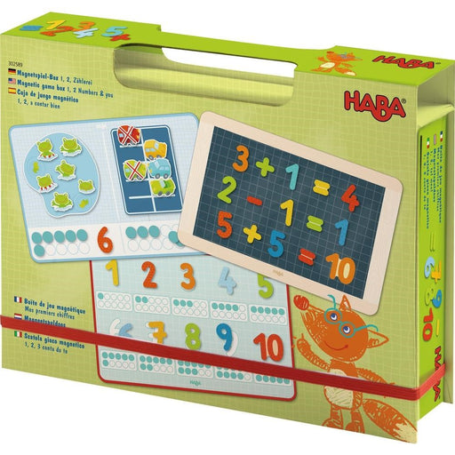 Haba 302589 Magnetic game box 1, 2 Numbers & you (1331062997082)