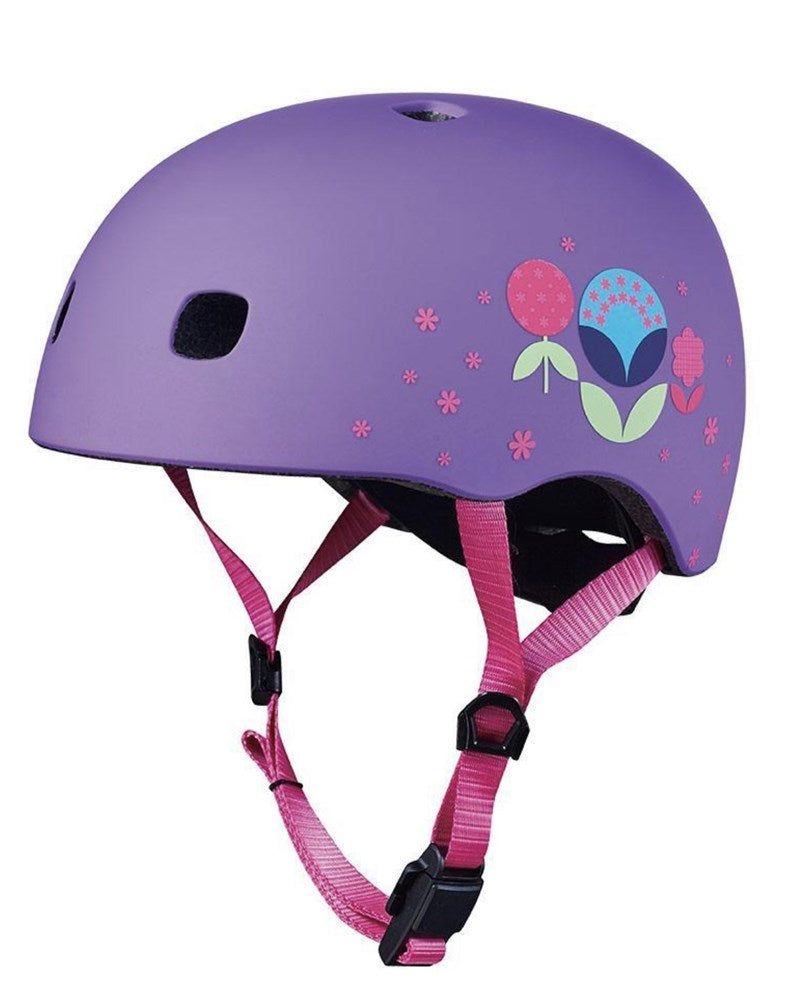 Micro Kids Pattern Helmet - Floral ( Small size)