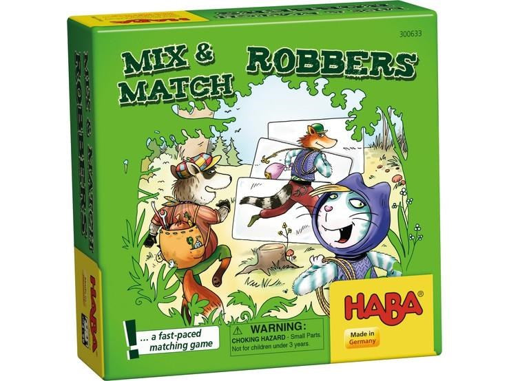 Haba 300633 Mix and Match Robbers Game (7037123845)