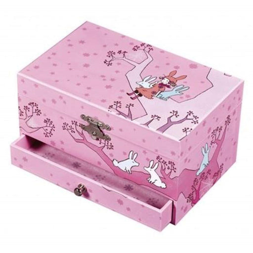 "Musical Jewellery Box ""Girl on Tree"" (301633536029)"
