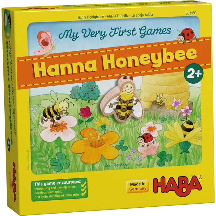 Haba 302199 My Very First Games Hanna Honeybee (1567453413466)