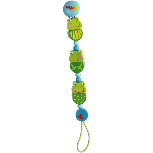 Haba 301115 Pacifier chain Frog Concert (267017256989)