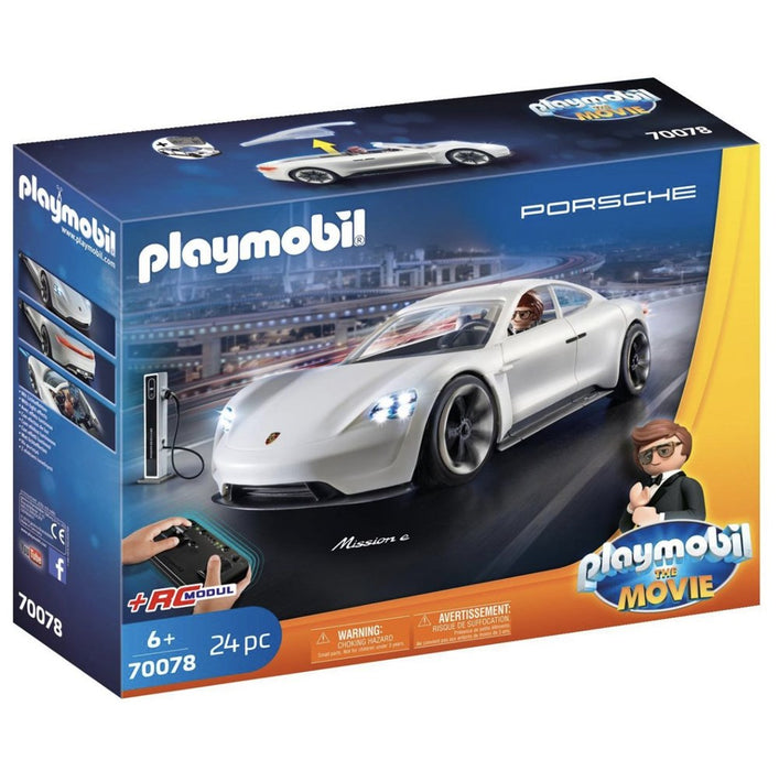 PLAYMOBIL 970078 Porche Mission E with Rex Dasher