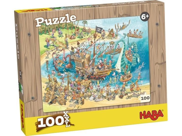 Haba 301978 Puzzle Pirates 100pc