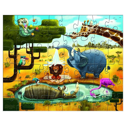 Haba 300492 Puzzles Animals of the World 3x48pc (7037096133)