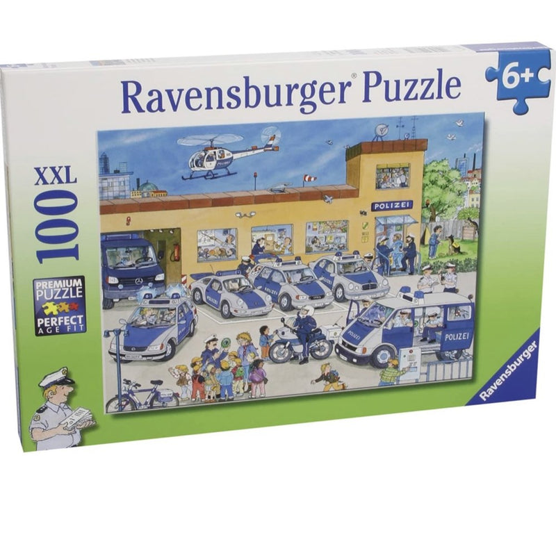 Ravensburger Puzzle Police District (100pc)
