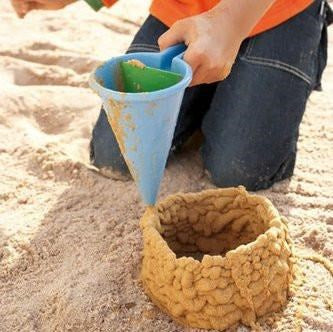 Sand Toy Spilling Funnel