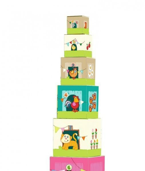 Haba 5879 Stacking Cubes On the Farm (7036998021)