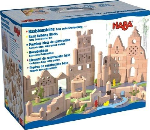 Haba 1077 Basic Building Blocks Extra Large Starter Set (7036641733)