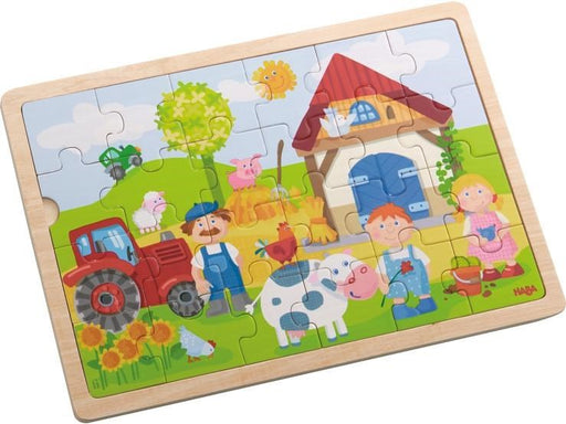 Haba 301942 Wooden Puzzle Farm 24pc (8682928773)