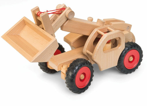 Wooden telescopic loader (1300404863066)