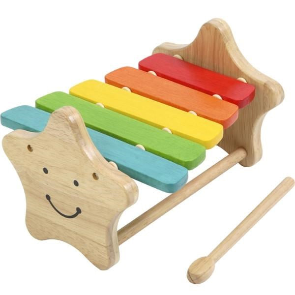 Wooden Xylophone Smily