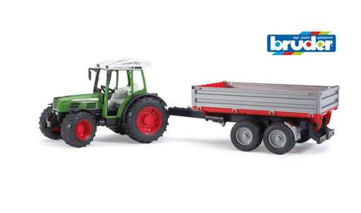 Bruder 2104 Fendt 209 S with Tipping Trailer (5595517747352)