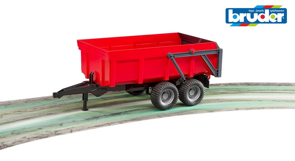 Bruder 2211 Tipping Trailer - Red (5595522400408)