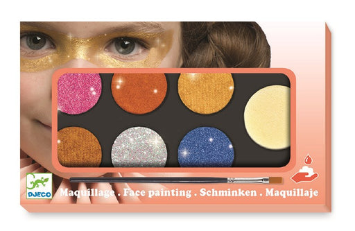 Djeco D09232 Metallic Pallete Maquillage (5535610929304)