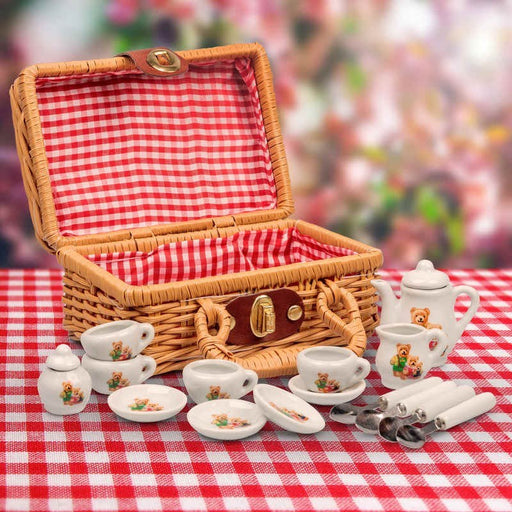 Tobar T18720 BEAR FAMILY MINI TEA SET (5696736133272)