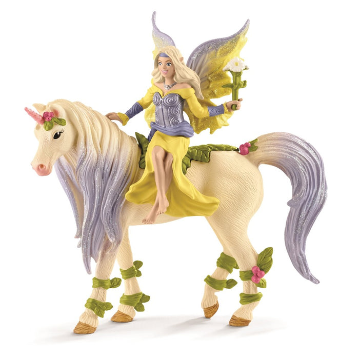 Schleich 70565 -  Fairy Sera with Blossom Unicorn (5505722613912)