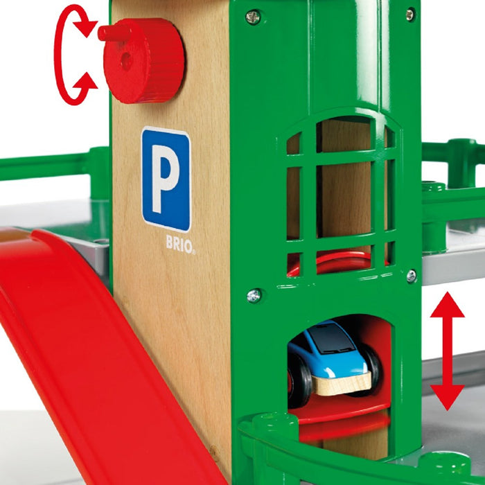 BRIO Destination 33204 - Parking Garage, 7 pieces (5505689321624)