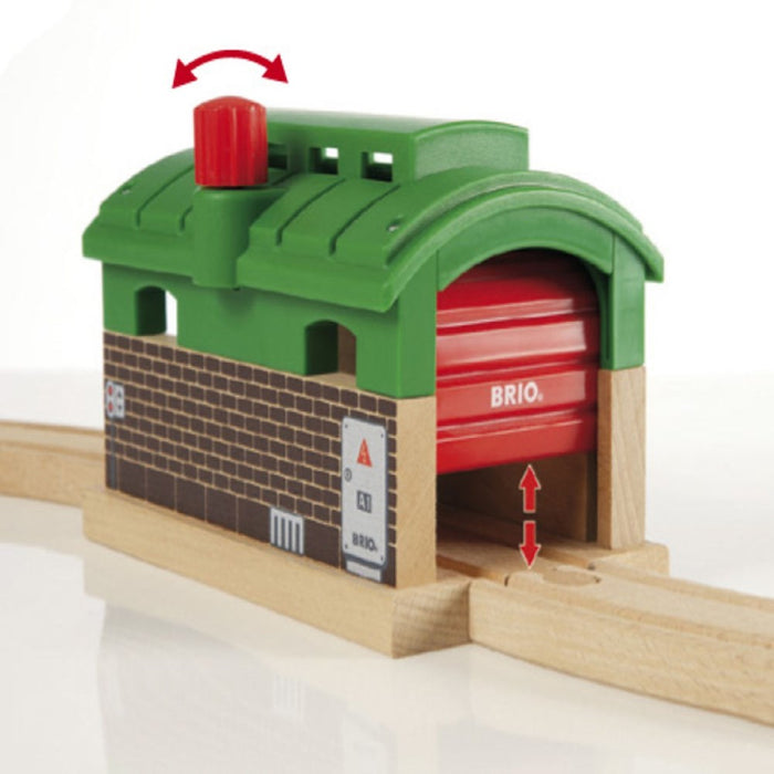 BRIO Destination 33574 - Train Garage (5505688666264)