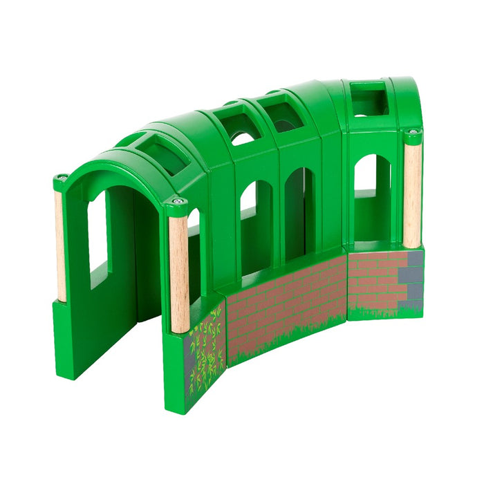 BRIO Tunnel 33709 - Flexible Tunnel, 3 pieces