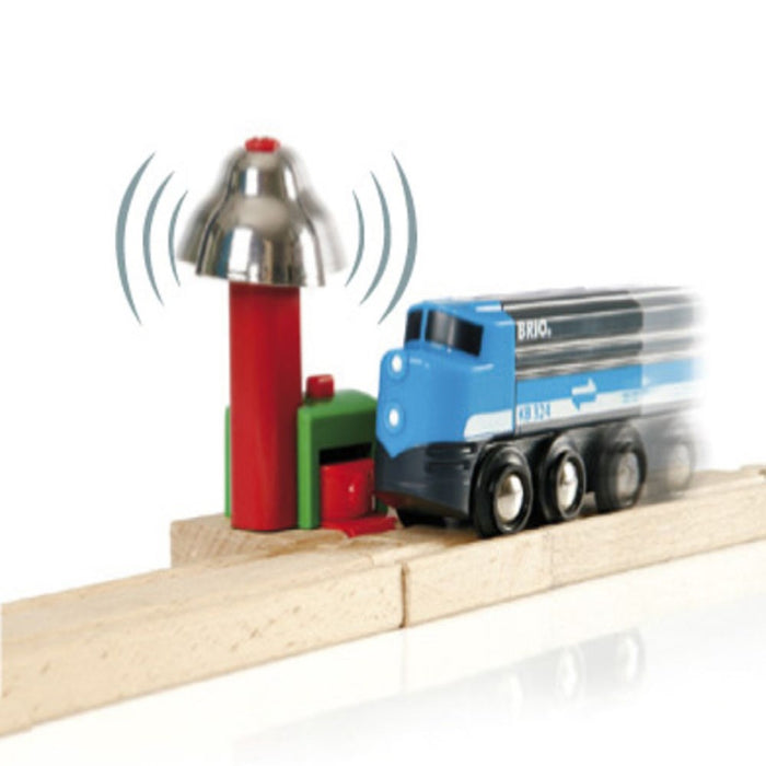 BRIO Tracks 33754 - Magnetic Bell Signal