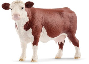 Schleich 13867 -  Hereford Cow (5505708195992)