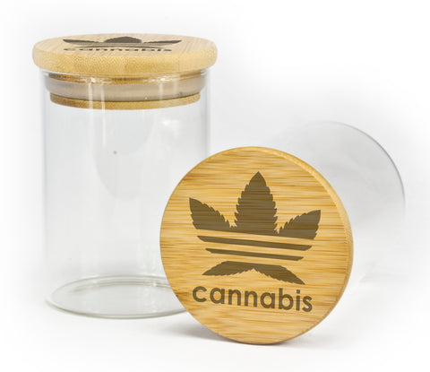 Cannabis Design Stash Jar