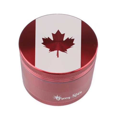 Canadian Flag Herb Grinder