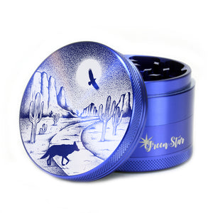 "Open image in slideshow, Desert Night Design on 2.5"" 4-piece Grinder"