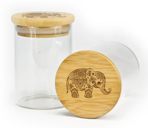 Elephant Stash Jar