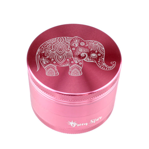 Decorative Elephant Design Herb Grinder