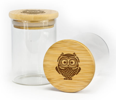 Single Owl Stash Jar