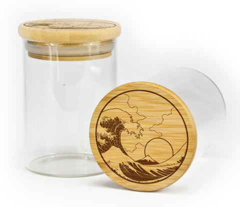 Tsunami Stash Jar