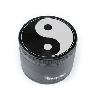 "Open image in slideshow, Yin Yang on 2.5"" 4-Piece Herb Grinder"
