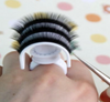 Plastic lash holder ring