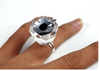 Diamond Shape Glue ring