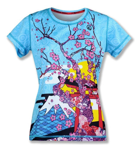 【Size S】Women's  SPRING IN JAPAN - テックTシャツ