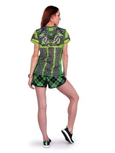 Women's CELTIC KNOT PLAID - ショートパンツ