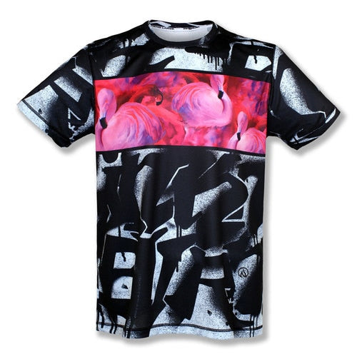 Men's URBAN FLAMINGO - テックシャツ