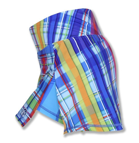 Women's RAINBOW PLAID- スポーツスカート