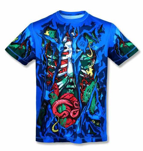 【Size XL】Men's TBT ZOMBIE - テックTシャツ