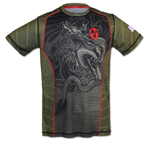 Men's ENDURANCE DRAGON - テックTシャツ