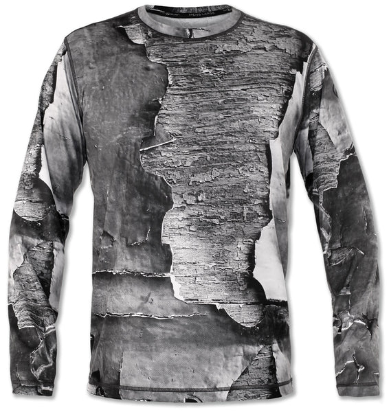 Men's Peeling Paint Long Sleeve Tech Shirt