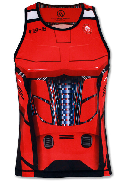Men's Red Robot Singlet