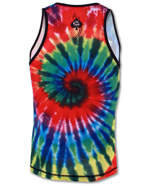 Men's Run or Tie Die Singlet