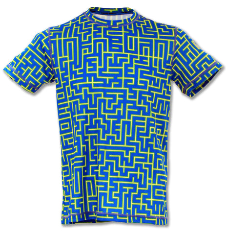 Men's Be A Mazed Tech Shirt