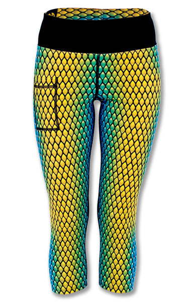 Women's Serpent Capris