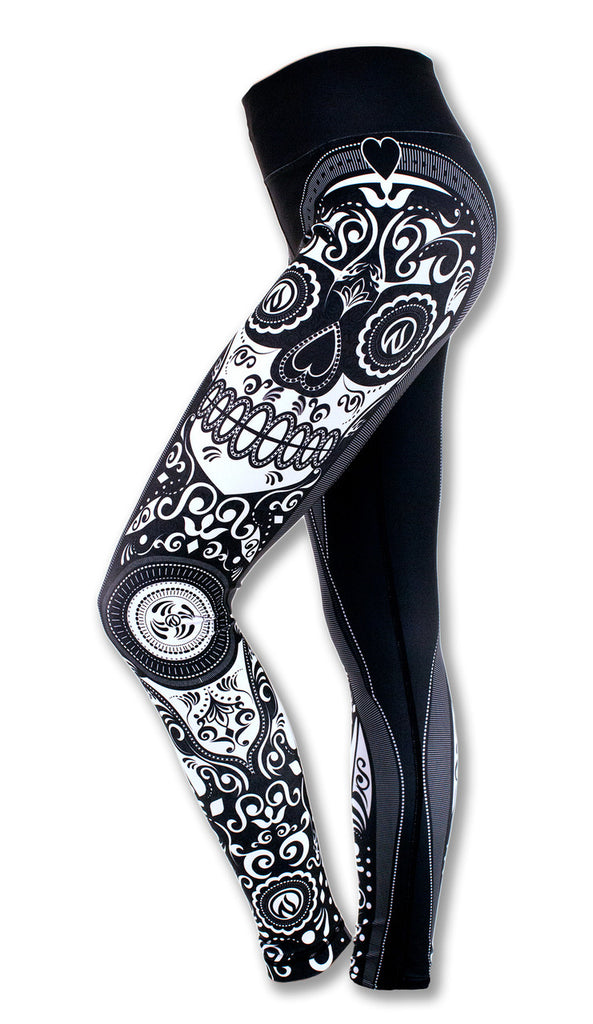 Women's Sugar Skull Tights