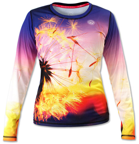 Women's Dandelion Long Sleeve Tech Shirt
